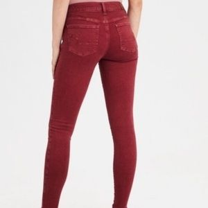 American Eagle Outfitters Berry Jegging Crop